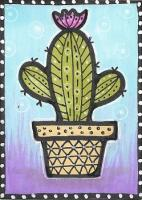 zentangle cactus