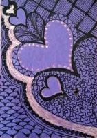 """Tangled hearts for """"Happy Half St. Valentine's Day"""""""
