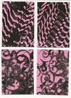 Black and Pink Abstract Swap