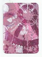 Purple, Pink, White #5