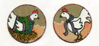 Chicken & Rooster Set