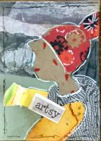 Artsy Girl ##103