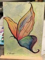 Rainbow Butterly