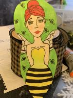 Bee Goddess Doll made for...