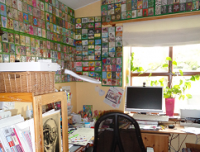 My craft room for ATC´s