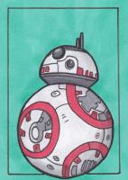 BB-8 for Star Wars Mail Art Swap