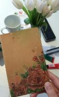 Notebook roses