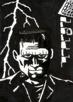 July 2015 Black On White: Frank's Monster