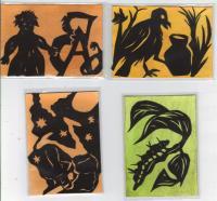PaperCut Illustrations Swap Cards