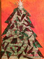 Christmas Trees Swap - Mixed Media