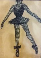 Wooden Ballerina