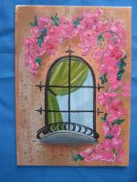 """Bougainvillea Window"" for..."