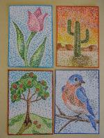 For What's Your Pointillism...