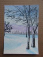 """Winter Landscape"" for November PAT"