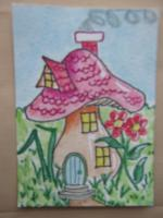 """Home Sweet Home"" for the MUSHROOM HOUSES Swap"