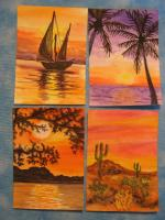 My Set for the SUNSETS Swap