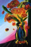 Flower Vase a la Peter Max