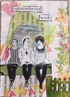 Trash to Treasure Mystery Challenge - Mixed media ATCs