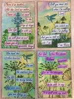 ATCs for Songs about Jesus swap
