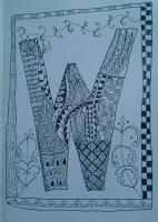 Zentangle W