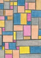 Cards for Homage to Mondrian...
