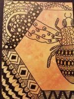 Honey Bee Zentagle Swap