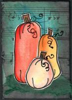 Fall Pumpkins with Music