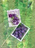 Postage Stamp Flowers/Trees...