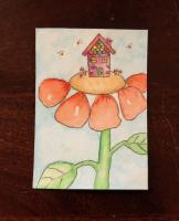 House on a Flower