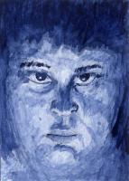 Underlit Study in Blue