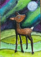 Inner Spirit Card MMH -White tailed deer
