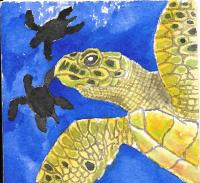 Sea Turtle Chunky page