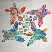 Sea Turtle Paper Dolls