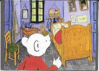 Rupert in Van Gogh's Bedroom