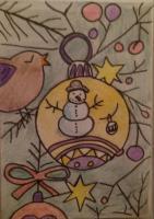 snowman bauble x