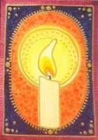 MMH Inner Spirit Card- Candle