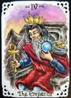 Tarot Major Arcana 3, 4, 5 Swap