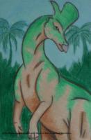 Draw Dinovember: Lambeosaurus