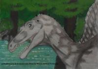 Draw Dinovember: Spinosaurus
