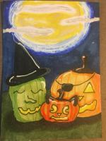 Halloween with a touch of whimsy swap