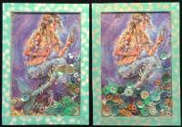 Mermaid (shaker card)