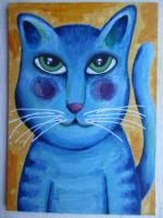 Another blue cat