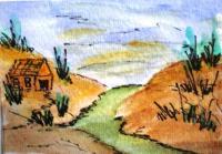 watercolors In the Desert