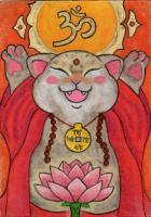 Bouddha-Cat