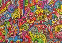 Mad World Doodle