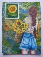 ATC5706 Sunflower Stamp