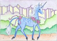 Sky Blue Unicorn