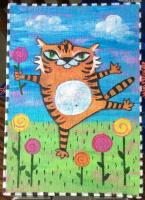 Whimsical Tiger