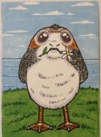 Porg with Flower