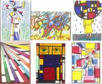 Mondrian With a Twist Swap Gallery